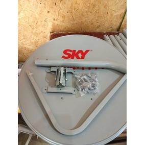 5 Antena Da Sky ( Sem Lnb - Só Antena ) 60 Cm