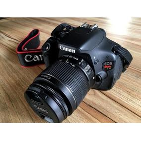 Câmera Canon T3i (600d) + Lente 18-55 + Bolsa