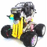 Carro A Control Camioneta Batería Recargable 12 Funciones