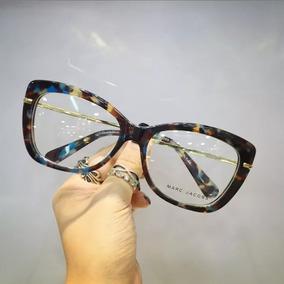 Armacao Oculos Estilo Gatinha - Óculos Armações no Mercado Livre Brasil e94c1ae7c1