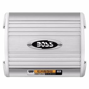 Potencia Boss 4 Canales 1000 Watt Puenteable Cx650 Con Env