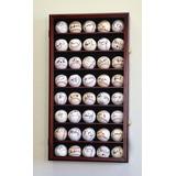 Sfdisplay Gabinete Exhibidor Para 40 Pelotas De Beisbol