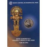 Blister Tumi De Oro 2010 Numismática Perú