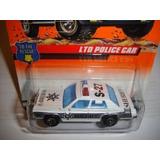 Matchbox # 24 Ltd Coche Policía