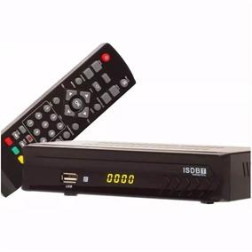 Conversor Digital Terrestre Full Hd Tv Hdmi Rca + Cabo Rca