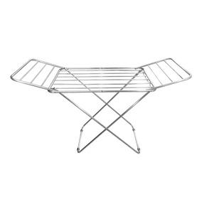 Varal De Chão Estrutura Em Alumínio Com Abas
