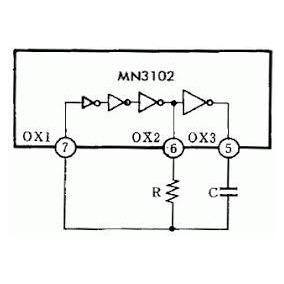 Circuito Integrado Mn3102