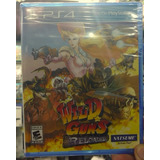 Wild Guns Reloaded Ps4 Playstation Nuevo Sellado Disponible