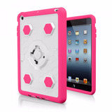 Funda Rokform Ipad Mini 1 Rosa Con Blanco