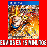 Dragon Ball Fighterz Ps4 Digital 45% Off