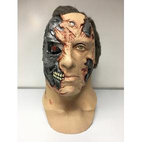 Mascara Terminator Original Película Terror Halloween Latex