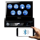 Aparelho Dvd Pioneer Retrátil Usb Aux Bluetooth Touch Usado