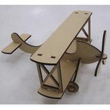 Avião Pequeno Principe 100cm Mdf