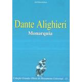 Livro Monarquia Dante Alighieri