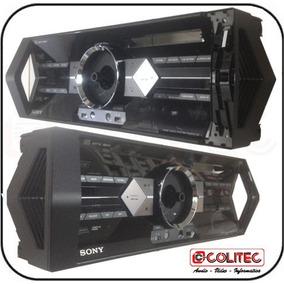 Frente Plastica Acrilica Aparelho D Som Sony Shake 55 Painel