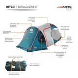 Barraca Camping Indy Gt 2/3p Ntk +nota Fiscal+garantia+frete