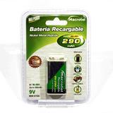 Bateria 9v Recargable Macrotel / Tecnología J&j