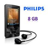 Philips Mp4 8gb Gogear Ariaz Con Altavoz Y Radio Fm