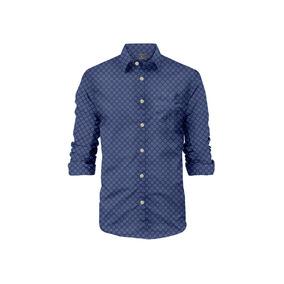 Camisa Manga Larga La Jolla Rosé Pistol Para Hombre - Morado