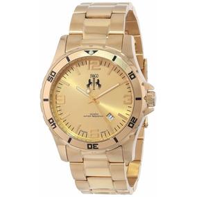 Reloj Jivago Ultimate Acero Inoxidable Oro Mineral Jv6114