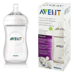 Biberon Tetero Bebes Philips Avent Natural 260 Ml / 9 Oz