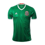 Playera Jersey Selección Mexicana Verde adidas Original