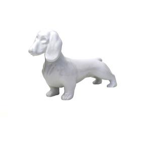 Manequim Dog Duchshund Exclusive White Em Fibra