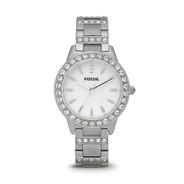Reloj Dama Fossil Es2362 Color Plata De Acero Inoxidable