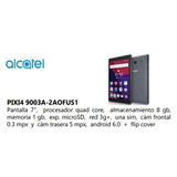 Tablet Alcatel 7.1 Quad -core 1.6ghz Memoria 8gb, Android 3g