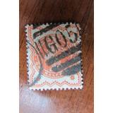 Inglaterra Catalog Scot Nª 80 De 1880,1,5 Penny 47,5 Dolar