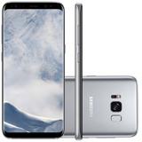 Smartphone Samsung Galaxy S8 Prata 5.8 Câmera De 12mp 64g