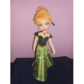 Muñeca Anna Frozen Habla Y Canta En Ingles 44 Cms Disney