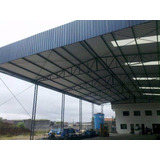 Galpao Metalico, Estrutura Metalica, Mezanino, Serralheria