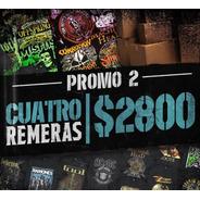 Promo  Remeras  Nro. 3  /  4 Remeras  X $2800 Y Envio Gratis