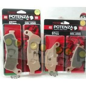 Kit Freio Potenza Xre 300 Abs Diant + Tras 222 + 174