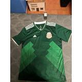 Playera Mexico Mundial Jersey