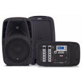 Kit De Caixas Acústicas 1200 Watts Com Mesa De Som E Mic