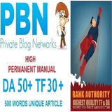 Comprar Backlinks Seo Da50 + Pa50 + Tf30 + Cf40 +,pbn Home