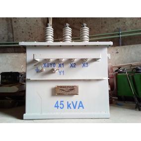 Transformador Trifasico Tipo Poste 45 Kva