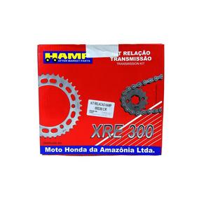 Kit Relaçao Xre 300 -hamp (original Honda) Com Retentor 1045
