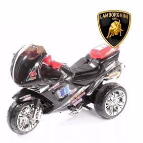 Moto A Bateria Triciclo Infantil Carrera 6v Luces Sonidos