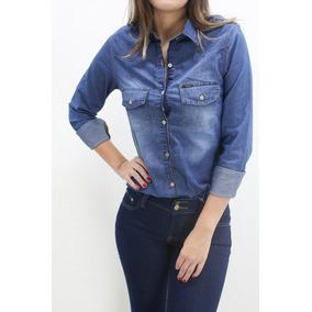 Camisa Jeans Com Elastano Revanche