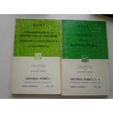 Kant Dos Libros
