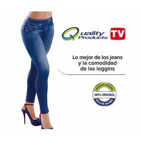 Jeggings 360 Leggings Con Diseño De Jeans Original