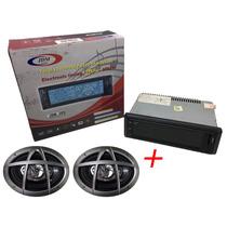 Autoestereo Pantalla Tactil Usb Mp3 Sd Am/fm + Parlantes 6x9