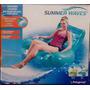 Poltrona Inflável Summer Wave Com Porta Copos-praia/piscina