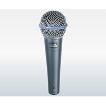 Microfone Shure Beta 58a C/ Fio