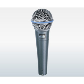 Microfone Shure Beta 58a C/ Fio Frete Grátis
