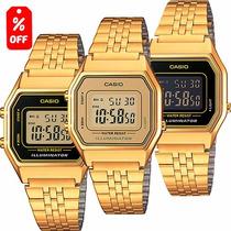 Reloj Casio Dama Vintage La680 Dorado - 100% Original Cfmx