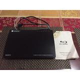 Blu-ray Sony Bdp-bx18 Negro Wi-fi Cableado Buena Condición